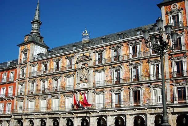 Casa de la Panederia Plaza Mayor Madrid